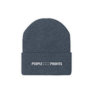 People Over Profits - Classic Beanie - Overwear Gear