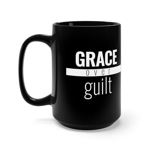 Grace Over Guilt - Red Bar Mug - Overwear Gear
