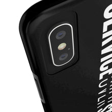 Load image into Gallery viewer, Service Over Status - Tough Phone Case (Black) - Overwear Gear
