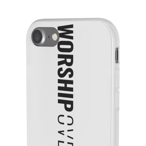 Worship Over Worry - Vertical Flex Case - Overwear Gear