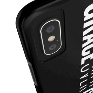 Grace Over Guilt - Tough Phone Case (Black) - Overwear Gear