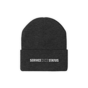 Service Over Status - Classic Beanie - Overwear Gear