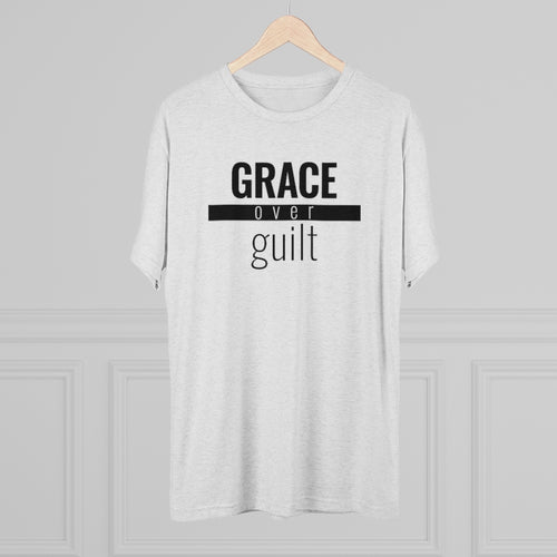 Grace Over Guilt - Premium TriBlend Tee - Overwear Gear