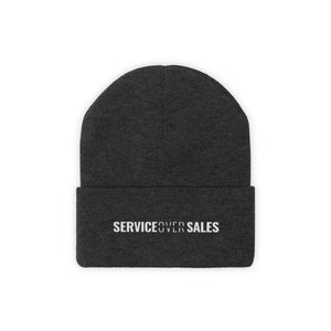 Service Over Sales - Classic Beanie - Overwear Gear