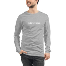Load image into Gallery viewer, Faith Over Fear - Long Sleeve - Overwear Gear