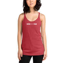 Load image into Gallery viewer, Faith Over Fear - Women's Racerback Tank - Overwear Gear