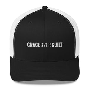 Grace Over Guilt - Trucker Cap - Overwear Gear