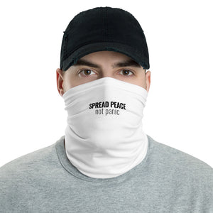 Spread Peace Not Panic - Neck Gaiter - Overwear Gear