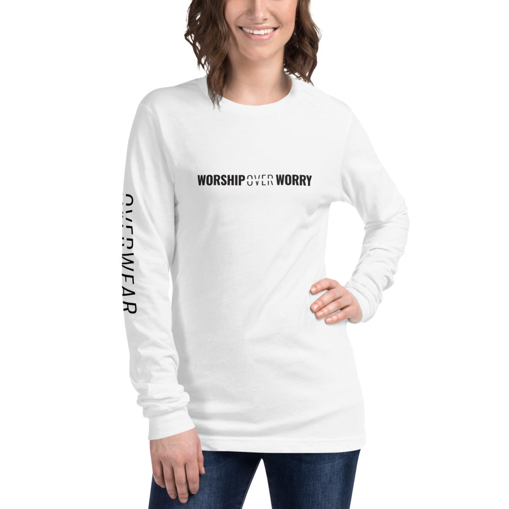 Worship Over Worry - Long Sleeve - Overwear Gear