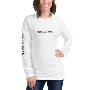 Hope Over Hype - Long Sleeve - Overwear Gear