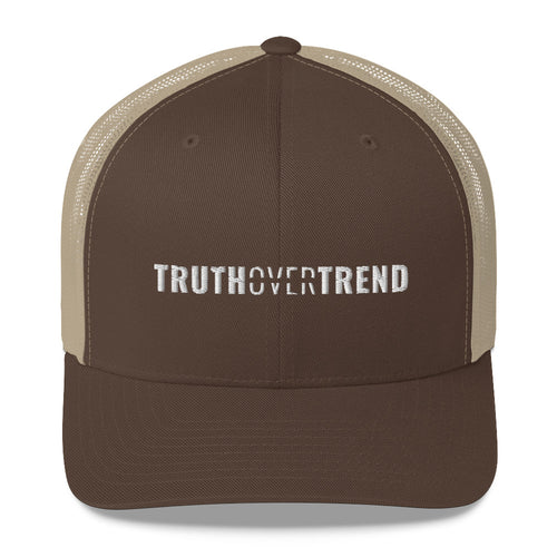 Truth Over Trend - Trucker Cap - Overwear Gear