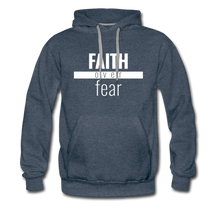 Load image into Gallery viewer, Faith Over Fear - Premium Hoodie - Overwear Gear