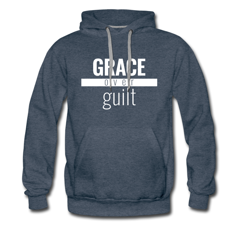 Grace Over Guilt - Premium Hoodie - Overwear Gear