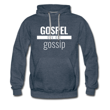 Load image into Gallery viewer, Gospel Over Gossip - Premium Hoodie - Overwear Gear
