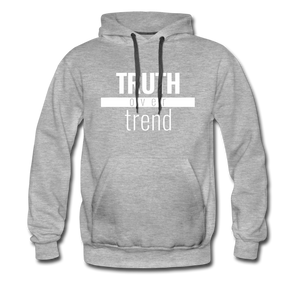 Truth Over Trend - Premium Hoodie - Overwear Gear