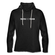Load image into Gallery viewer, Truth Over Trend - Lightweight Hoodie - charcoal gray