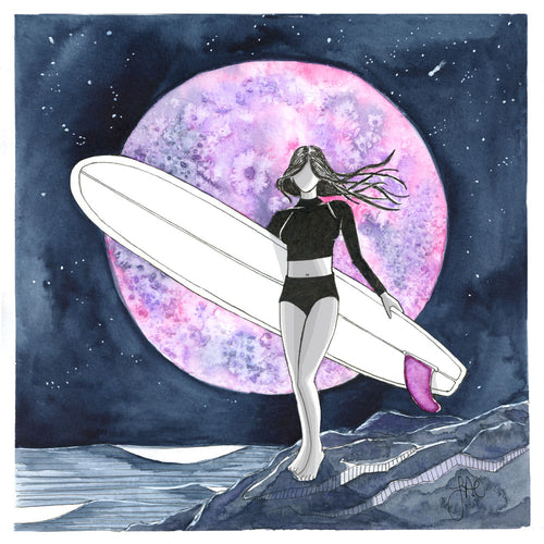 Strawberry Moon Surf - SaltWalls