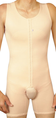 Holistic Garments 1009YE Male Chest and Abdomen Procedure Support Bodysuit