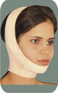Holistic Garments 1038 Neck, Ears and Double Chin - Open Face Compression Mask