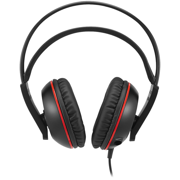 ASUS Cerberus V2 Gaming Headset - Black/Red CERBERUSV2 front view