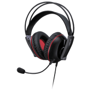 ASUS Cerberus V2 Gaming Headset - Black/Red CERBERUSV2  angular view