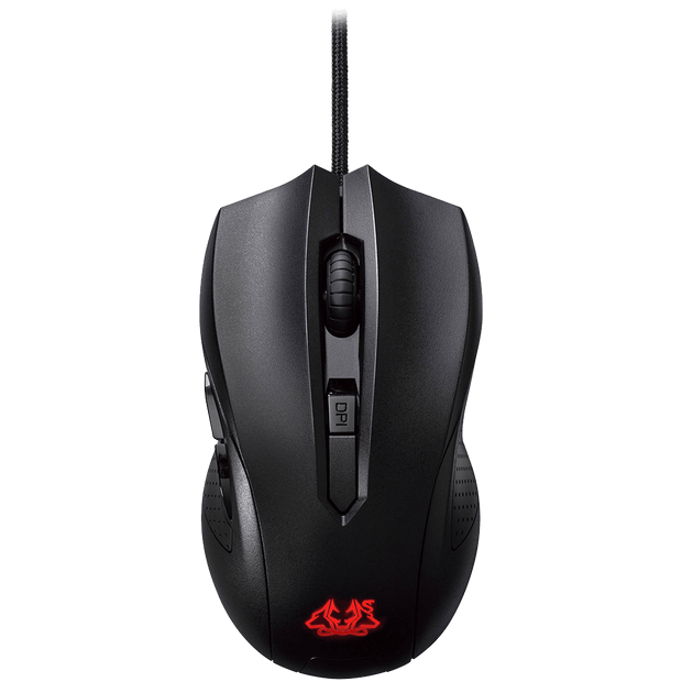 ASUS Cerberus Gaming Mouse CerberusMouse top view