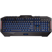 ASUS Cerberus Gaming Keyboard CerberusKeyboard blue top view