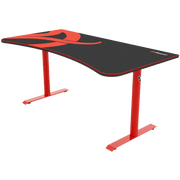 Arozzi Arena Gaming Desk - Red ARENA-NA-RED side view