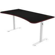 Arozzi Arena Gaming Desk - White ARENA-NA-WHITE side view