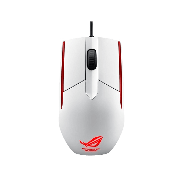 ASUS ROG Sica Mouse - White ROG SICA top view