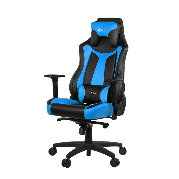 Arozzi Vernazza Gaming Chair - Blue VERNAZZA-BL standard view