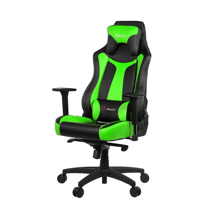 Arozzi Vernazza Gaming Chair - Green VERNAZZA-GN standard view