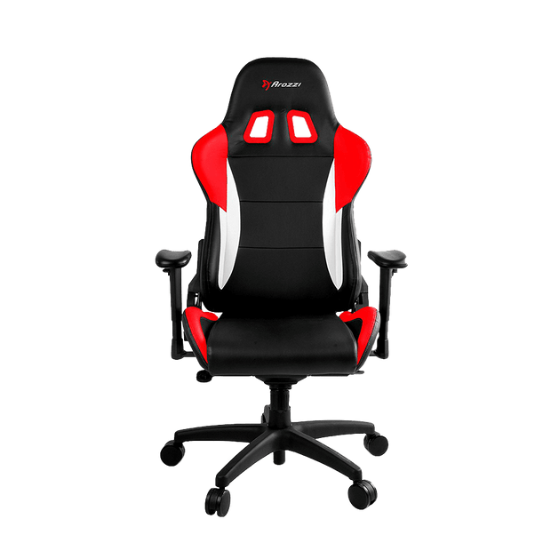 Arozzi Verona Pro V2 Gaming Chair - Red VERONA-PRO-V2-RD front view