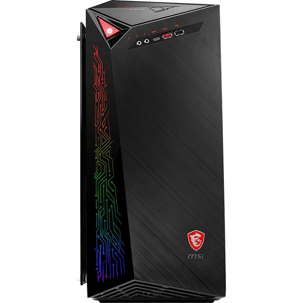 MSI INFINITE X 9SD-261CA Gaming Desktop INFINITE X 9SD-261CA front view