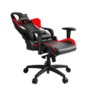 Arozzi Verona Pro V2 Gaming Chair - Red VERONA-PRO-V2-RD general seatdown view