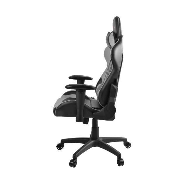Arozzi Verona V2 Gaming Chair - Grey VERONA-V2-GY side view