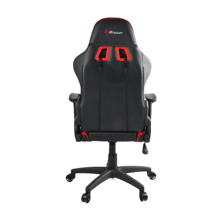 Arozzi Verona V2 Gaming Chair - Red VERONA-V2-RD back vie w