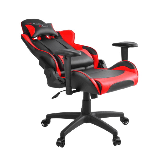 Arozzi Verona V2 Gaming Chair - Red VERONA-V2-RD general seatdown view