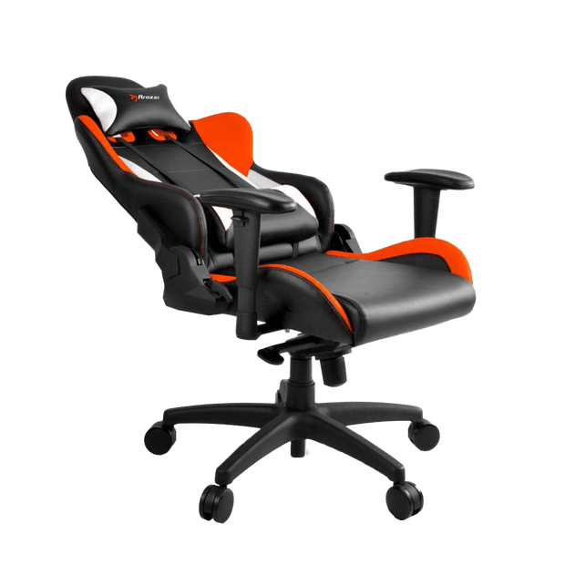 Arozzi Verona V2 Gaming Chair - Orange VERONA-V2-OR general seatdown view