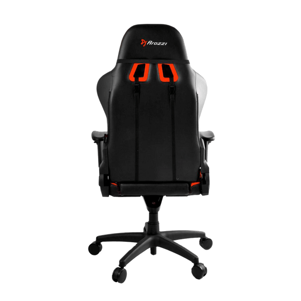 Arozzi Verona V2 Gaming Chair - Orange VERONA-V2-OR back view