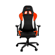 Arozzi Verona V2 Gaming Chair - Orange VERONA-V2-OR front view
