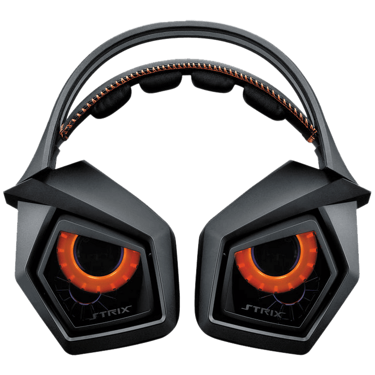 ASUS ROG STRIX 7.1 USB Gaming Headset STRIX7.1 on headset view