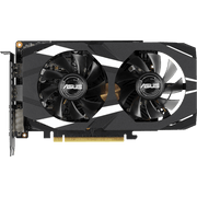 ASUS Dual GeForce GTX 1660 Ti OC Edition Graphics Card DUAL-GTX1660TI-O6G  top view