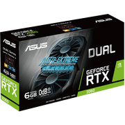 ASUS Dual GeForce RTX 2060 Graphics Card DUAL-RTX2060-6G box view