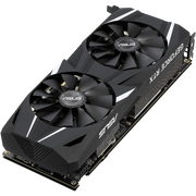 ASUS Dual GeForce RTX 2060 Graphics Card DUAL-RTX2060-6G angular fan view