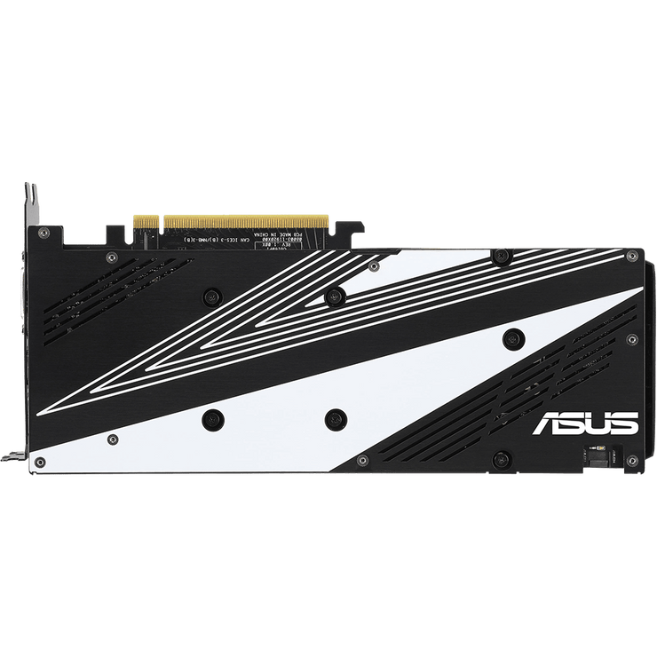 ASUS Dual GeForce RTX 2060 Graphics Card DUAL-RTX2060-6G bottom view