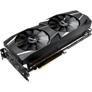 ASUS Dual GeForce RTX 2070 Graphics Card DUAL-RTX2070-8G angular fan view