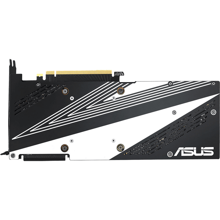 ASUS Dual GeForce RTX 2070 Graphics Card DUAL-RTX2070-8G bottom view