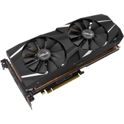 ASUS Dual GeForce RTX 2080 Ti Graphics Card DUAL-RTX2080TI-11G  angular fan view