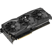 ASUS ROG Strix GeForce RTX 2070 Graphics Card ROG-STRIX-RTX2070-8G-GAMI fans angular view